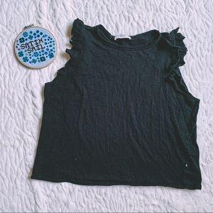 🔴2 for $20 🔴 Grunge Black Top